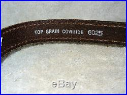 NOS Vintage AA&E Leather Craft Rifle/Shotgun Sling Gun Strap Padded #6025 (7)