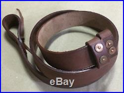 New WWI & WWII British Lee Enfield SMLE Leather Rifle Sling x LOT of 10 Slings