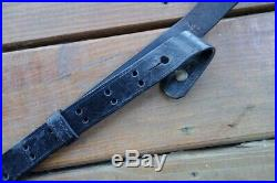 Original Leather Sling From Springfield Trapdoor Brass Fittings Good Shape