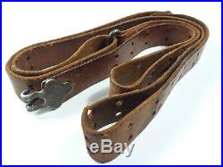 Original M1907 Leather Sling for the M1903, M1917 and M1 rifles