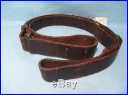 Original! U. S. M-1907 Leather Sling For All M-1903, M-1917 & M-1 Rifles