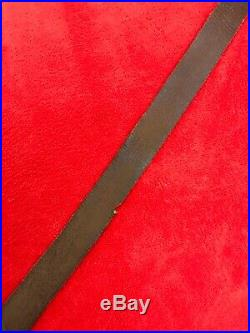 Original Vintage Lee Enfield 303 leather rifle sling 1914-1918 ww1 ww2