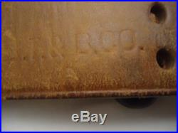 Original Wwi 1903 03-a3 Springfield Leather Rifle Sling B. T. & B. Co