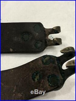 Original Wwi Us M1907 Leather Rifle Sling For 1903 Rifle B. T. &b. Co. Mfg Mark