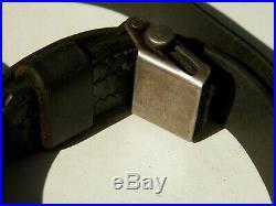 Original Wwii Rifle Sling Leather 98k Gewehr 43 K43 G43 Ww2 1940 German Army Old