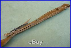 Quality Suede Leather Rifle Sling / Carry Strap by Kirkpatrick Leather, Laredo