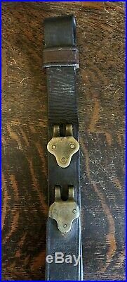 RARE Original WW1 WWI H&P 1918 M1907 Leather Rifle Sling M1903 M1917 M1 Garand