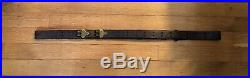 RARE Original WW1 WWI Lerch Bros M1907 Leather Rifle Sling M1903 M1917 M1 Garand