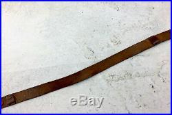 Rare Early SVT 40 All Leather Sling, Original Military Surplus, Tokarev Rifle
