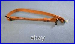 Rare Leather Savage Rifle Sling 1 Adjustable with Swivels TR-West