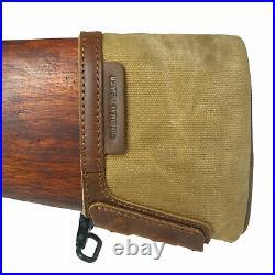 Rifle/Shotgun Recoil Pad Gun Buttstock with Rifle Gun Shoulder Sling, USA LOCAL