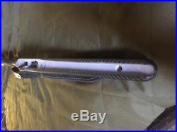 Rifle stock Remington model 700 short action KIWI CARBON FIBER, leather sling