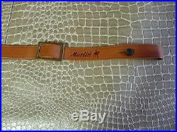 Special Marlin Factory Leather Sling withHorse & Rider, 336,39A & 1894, NOS