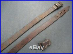 Super Nice E/WaA 98k WWII German Mauser rifle leather sling for K 98 K98 G43