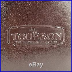 Tourbon Shotgun Cartridges Holder Shells Waist Pack Ammo Bag 2 Side Bag Leather