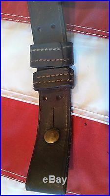 Trapdoor Springfield and Krag Rifle original leather sling
