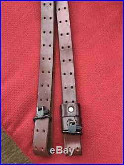 Turner Saddlery Custom Leather Rifle Sling Brown 36 Vintage Used