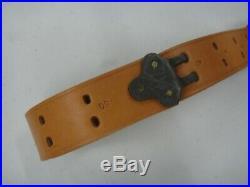 Turner Saddlery Leather National Match Service Rifle Military Sniper Sling (173)