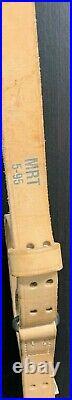 USGI M-1907 Military Issue MRT 5-95 Leather Rifle Sling, M1 Garand, 1903