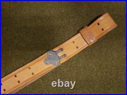 USGI US Military M1907 LEATHER Strap Rifle SLING Small Arms M1 Garand etc 1981