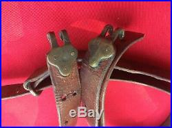USGI WW2 Springfield 1903 Leather Rifle Sling