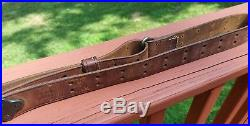 US WW1 WW2 Model 1907 graton & knight 1917 G&K Rifle Leather Sling Original 1903