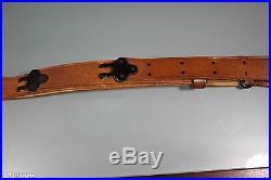 US WW2 M1907 Springfield Garand Leather Rifle Sling. Unmarked. Light Use. Nice