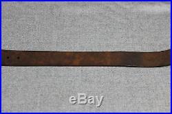 US WW2 Ordnance Marked C9C M1 Garand Leather Rifle Sling Strap Belt Help! 4
