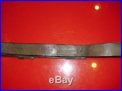 U. S. Army Rock Island Arsenal Krag Type 2 Rifle Leather Sling Original VG
