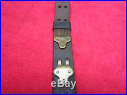 U. S. WWII Model 1907 Original Leather Rifle Sling dated 1918
