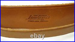VTG Leather George Lawrence Shotgun Rifle Butt Rest Sling Strap Buttstock USA