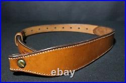 Vintage Bianchi Cobra Leather Rifle Sling #60