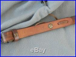 Vintage Bianchi Cobra Tooled LeatherRifle Sling
