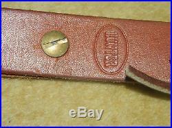 Vintage Hunter Co. Rifle sling 627025 9936 Tooled Leather Dear Head/Acorns