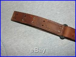 Vintage Military US Army 1907 Leather Sling H&R 1918