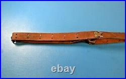 Vintage Red Head Duck Brand 157T Rifle Sling Military Style 1 Wide + Swivels