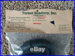 Vintage Turner Saddlery Black Leather Gun Rifle Military Tactical Sling 50/52