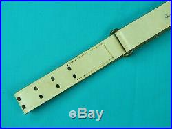 Vintage US WW2 Military Parade Rifle Leather Sling