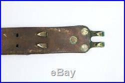 Vintage WW2 U. S. Boyt 1943 Rifle Sling Strap Leather Original Collectable Rare