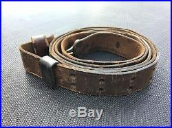 Vintage leather Rock Island Arsenal Rifle Sling