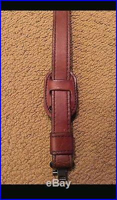 WEATHERBY Vintage Leather Elephant Rifle Sling
