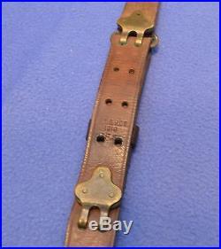 WW1 Model 1907 Leather Rifle Sling W. T. &B. Co. 1918