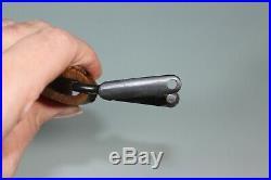 WW1 WW2 Era Brown Leather Mauser Rifle Sling. Nice. Unknown. Simson Swivel! S31