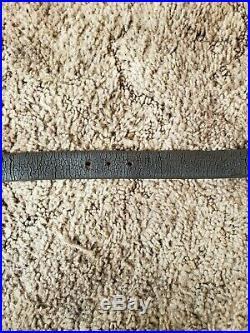 WW2 Japanese leather carbine rifle sling
