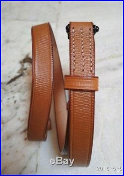WWII GERMAN K98 98K RIFLE LEATHER RIFLE CARRY SLING Brown Lot of 20 Pcs Gift