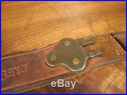 WWII Leather M1907 M1 GARAND 03 SPRINGFIELD BOYT 44. (ONE HALF OF RIFLE SLING!)