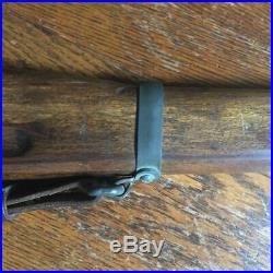 WWII Paris Dunn Dummy Training Rifle Mark 1 USN US Navy Rifle leather sling EXC