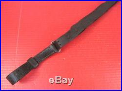 WWII US ARMY M1907 Leather Sling M1903 Springfield or M1 Garand Rifle Unmarked