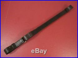 WWI US ARMY AEF M1907 Leather Sling M1903 Springfield Rifle Marked RIA 1914