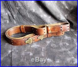 WWI US Army 1903 Springfield Rifle Leather Sling, 1918 Hoyt